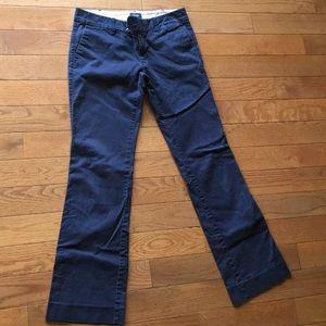 American Eagle Navy Blue Khakis